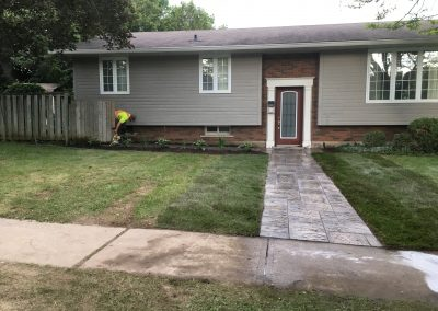 Front Walkway After